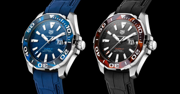 TAG Heuer Aquaracer 43 mm Tortoise Shell Effect Special Edition (Price, Pictures and Specifications)