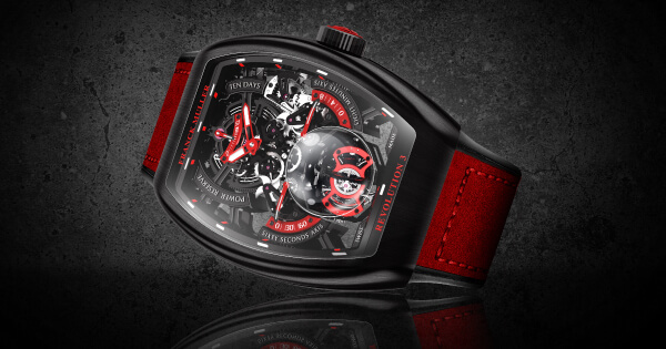Franck Muller Vanguard Revolution 3 Skeleton (Price, Pictures and Specifications)
