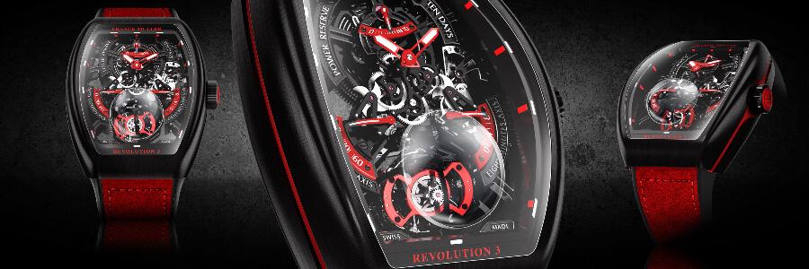 The New Franck Muller Vanguard Revolution 3 Skeleton