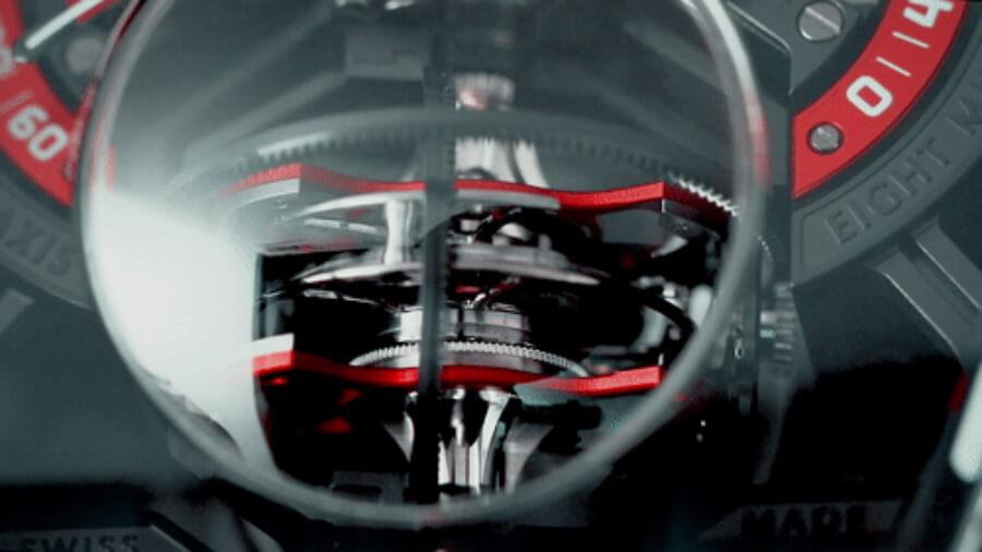 Franck Muller Vanguard Revolution 3 Skeleton Movement