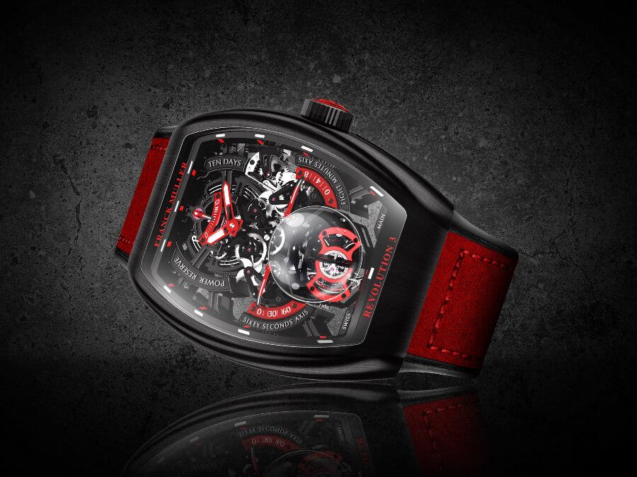 Franck Muller Vanguard Revolution 3 Skeleton Watch Review