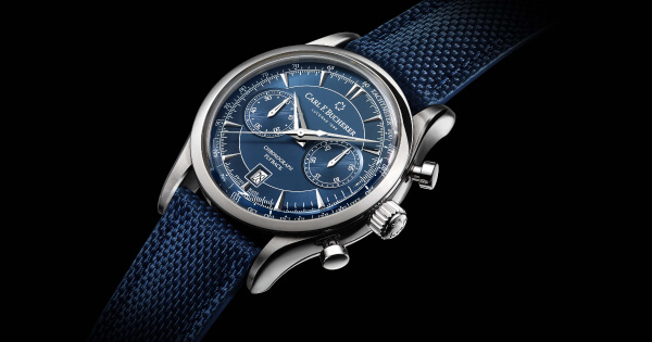Carl F. Bucherer Manero Flyback Blue Dial (Price, Pictures and Specifications)