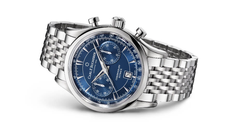 The New Carl F. Bucherer Manero Flyback Blue Dial