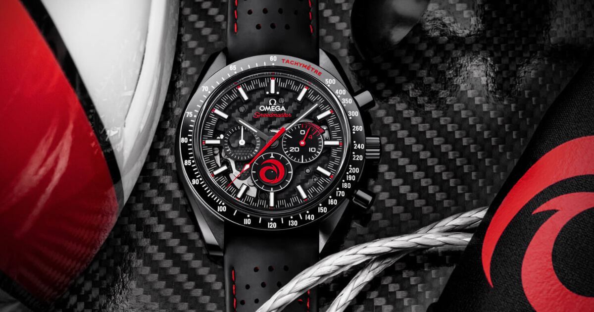Omega Speedmaster Dark Side Of The Moon Alinghi (Price, Pictures and Specifications)