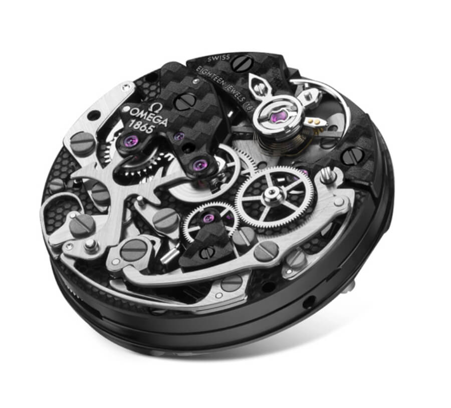 Omega Caliber 1865 Chronograph movement