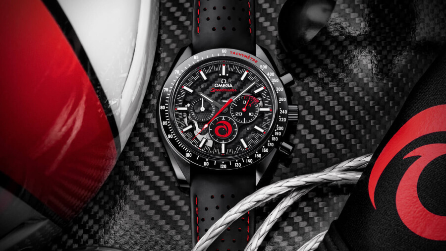 Omega Speedmaster Dark Side Of The Moon Alinghi Watch Review