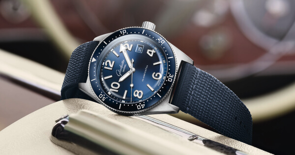 The New Glashütte Original SeaQ 39.5 mm With Blue Dial (Price, Pictures and Specifications)