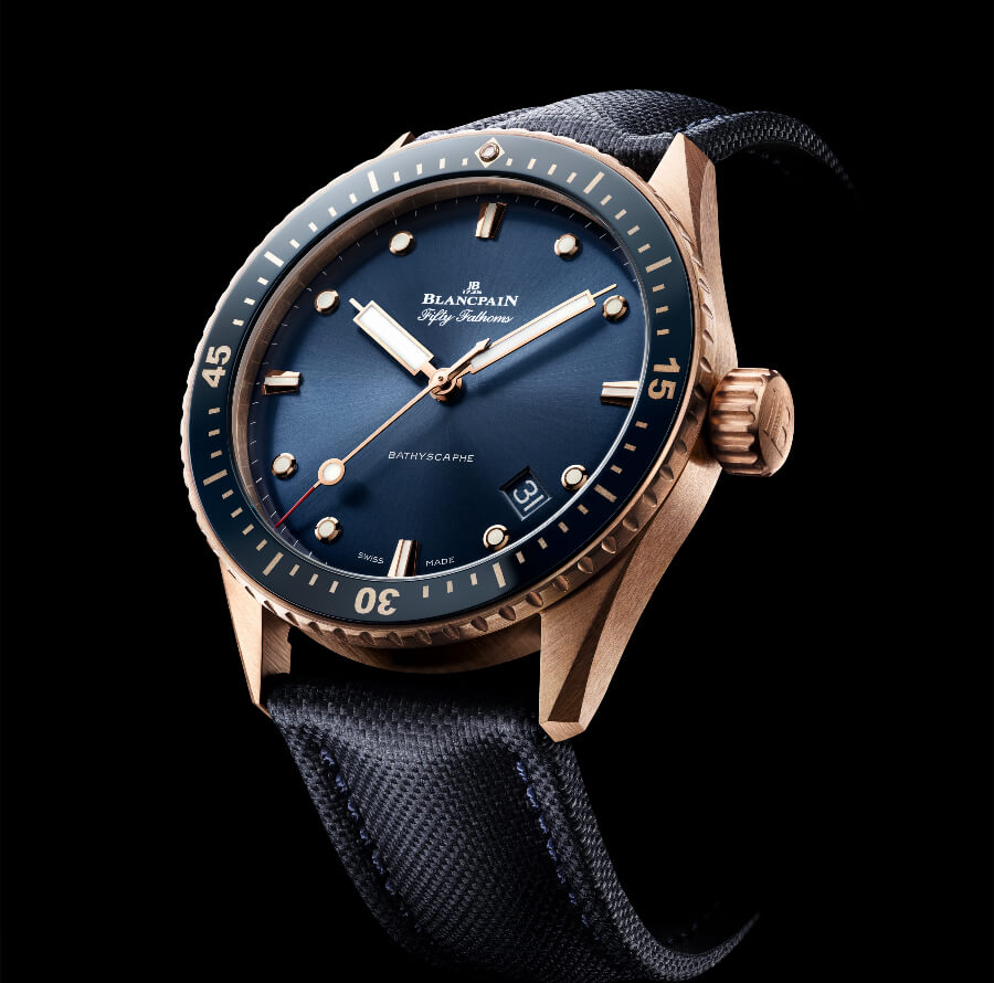 The New Blancpain Fifty Fathoms Bathyscaphe Sedna