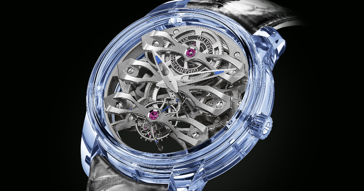Girard-Perregaux Quasar Azure (Price, Pictures and Specifications)