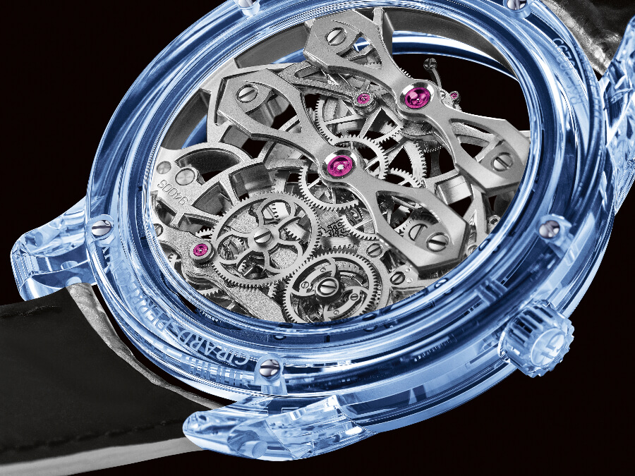 Girard-Perregaux Quasar Azure In House Movement