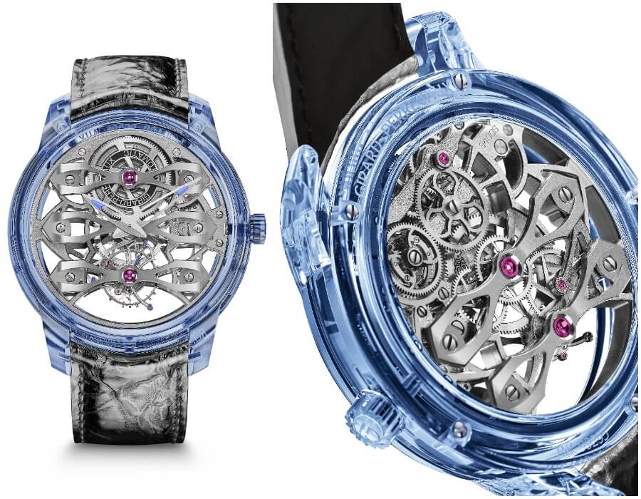 The New Girard-Perregaux Quasar Azure