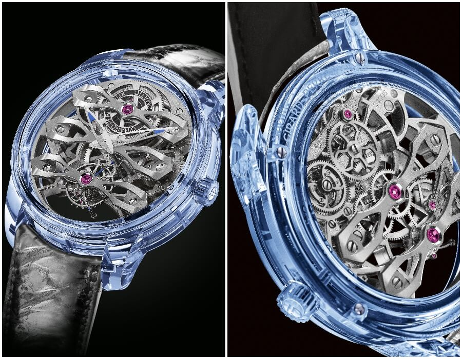 Men Watches Girard-Perregaux Quasar Azure