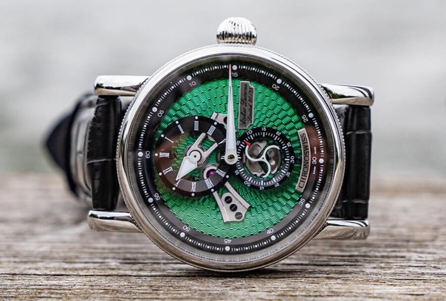 Chronoswiss Flying Regulator Open Gear Ocean Watch Review