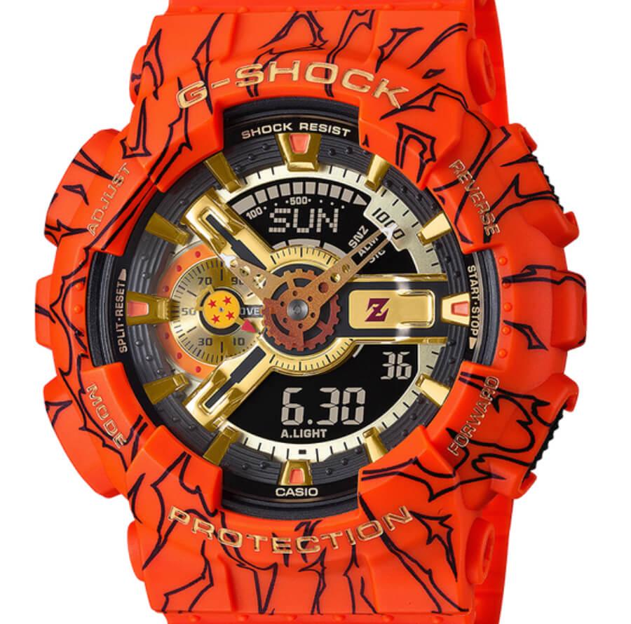 G-Shock X Dragon Ball Z GA110JDB-1A4 Limited Edition