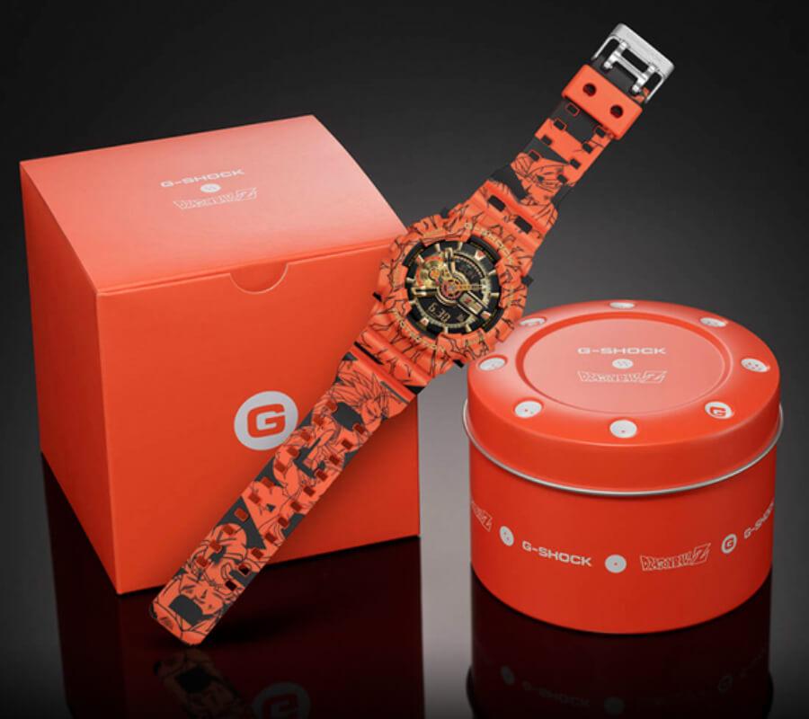 G-Shock X Dragon Ball Z GA110JDB-1A4 Limited Edition Full Box for sale