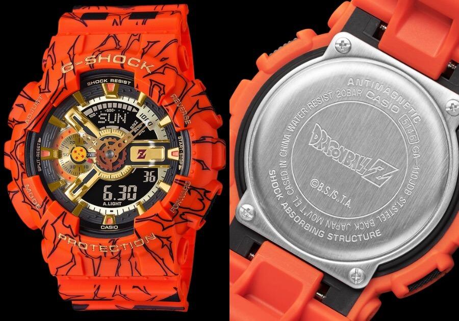 G-Shock X Dragon Ball Z GA110JDB-1A4 Limited Edition Watch Review