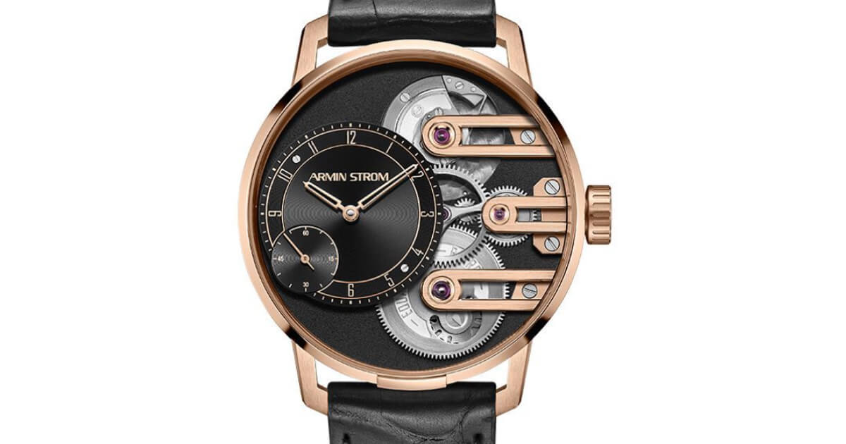Armin Strom Gravity Equal Force System 78 In Rose Gold (Price, Pictures and Specifications)