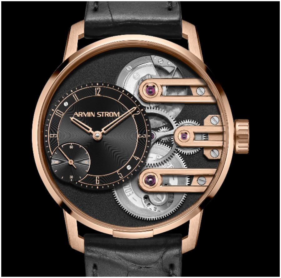 The New Armin Strom Gravity Equal Force System 78 In Rose Gold
