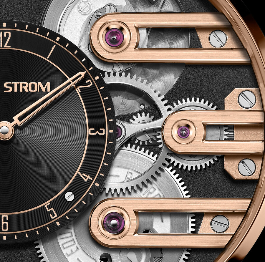 Armin Strom Gravity Equal Force System 78 In Rose Gold