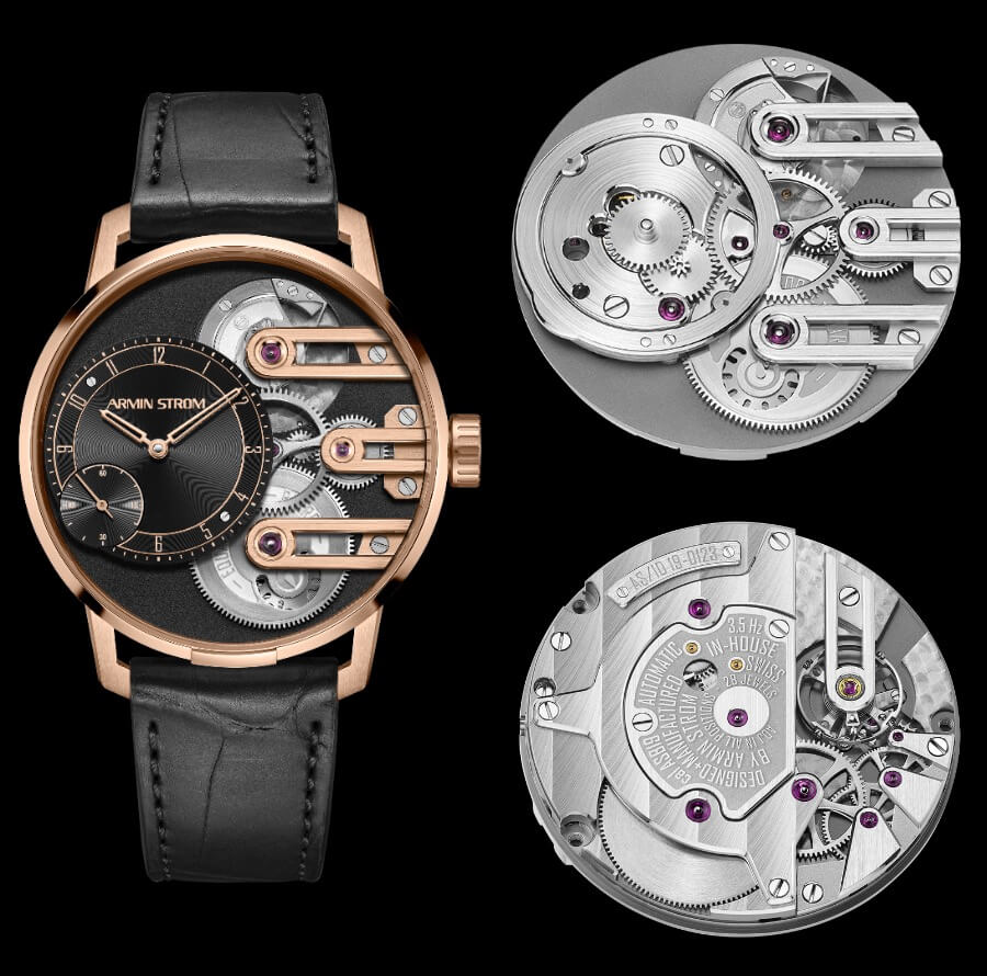 Armin Strom Gravity Equal Force System 78 In Rose Gold Watch Review