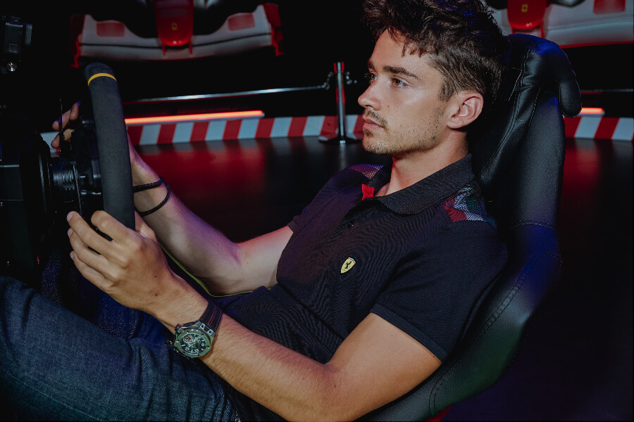 Charles Leclerc Watch Collection