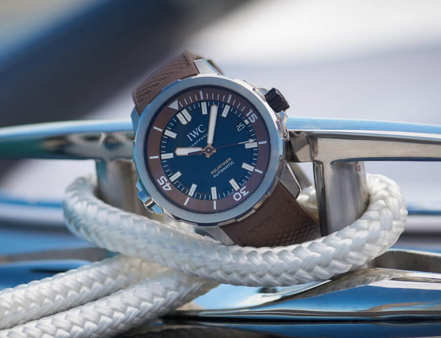 "IWC Aquatimer Automatic Edition ""Boesch"" Watch Review"