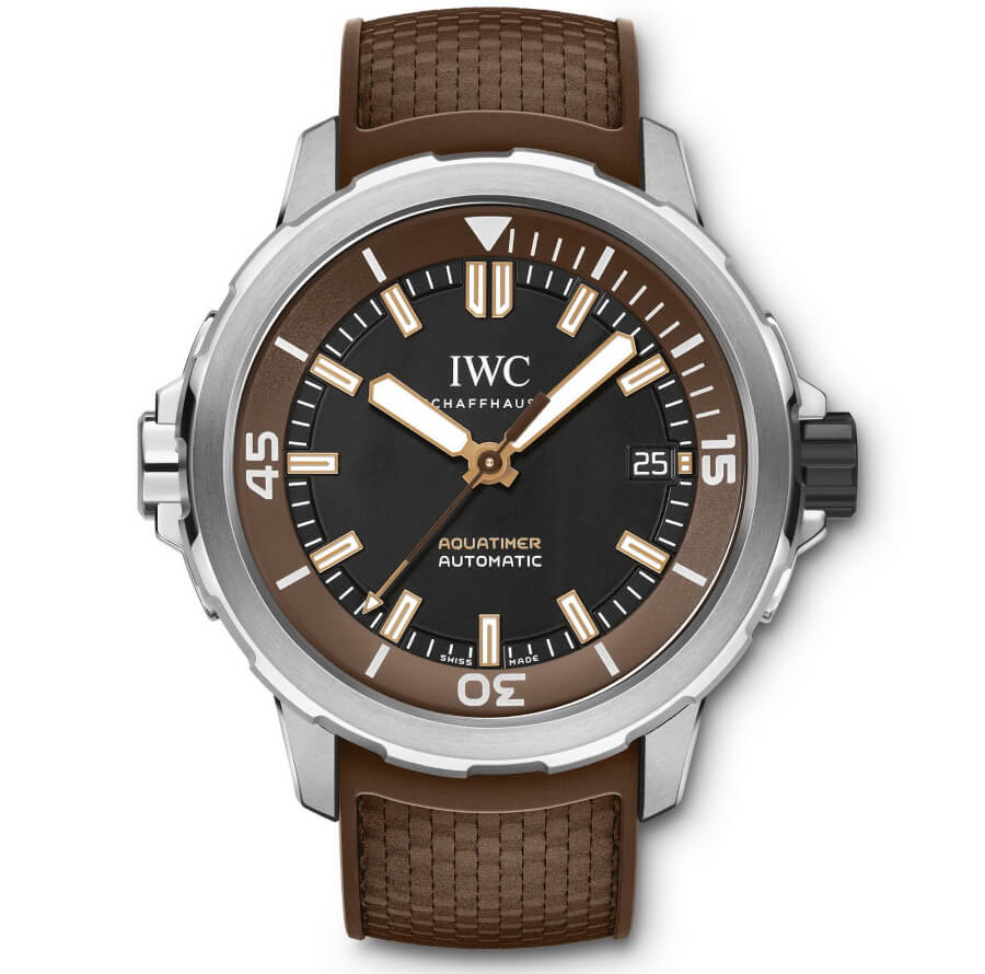 "IWC Aquatimer Automatic Edition ""Boesch"" IW341002 Watch Review"