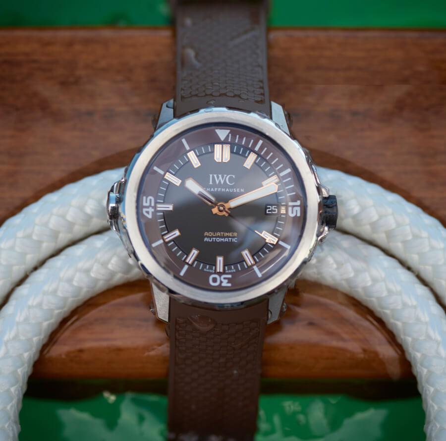 IWC Aquatimer Automatic Edition Boesch Watch Review