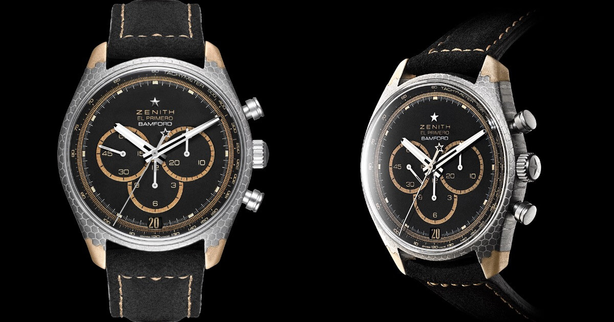 Zenith El Primero Superconductor Bamford Watch Department x Black Badger (Price, Pictures and Specifications)