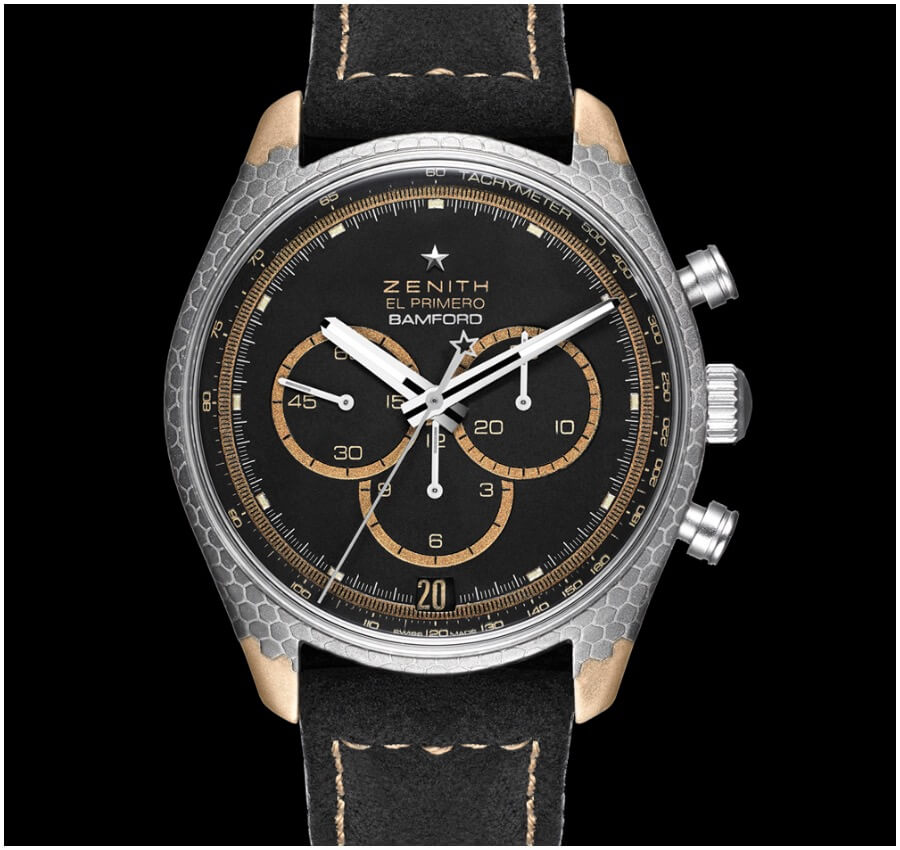 Zenith El Primero Superconductor Bamford Watch Department x Black Badger Watch Review