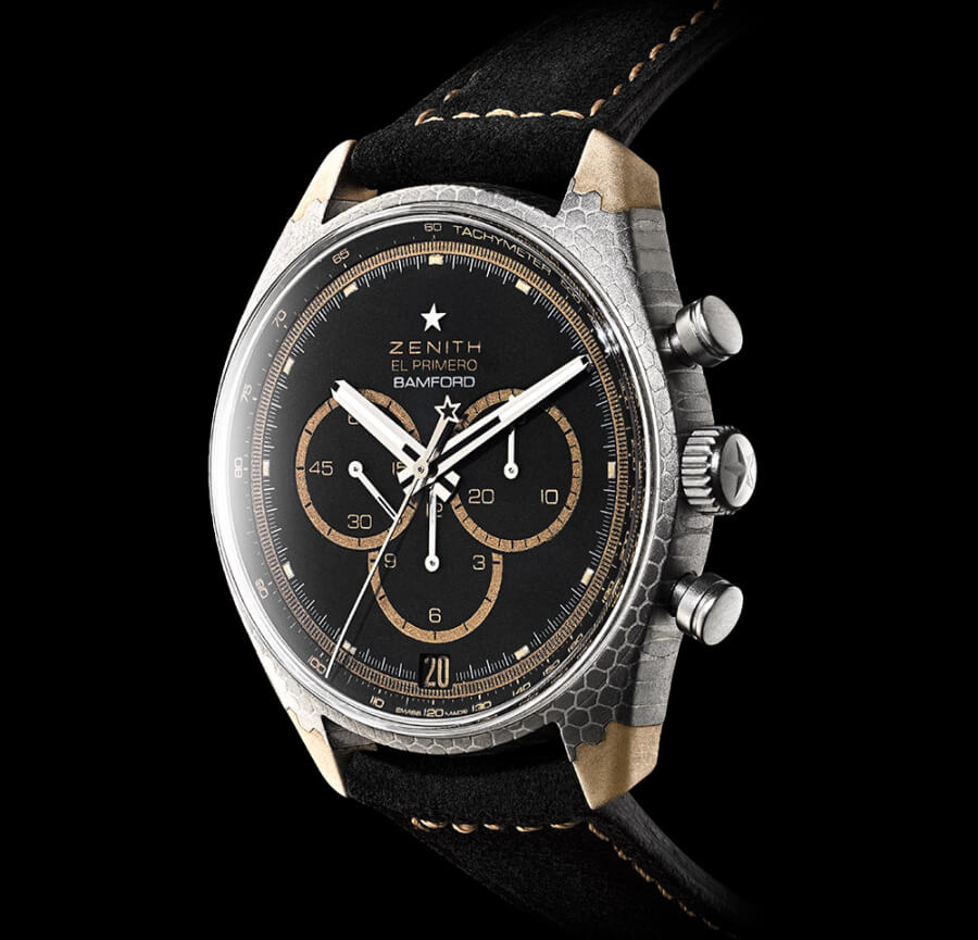 The New Zenith El Primero Superconductor Bamford Watch Department x Black Badger
