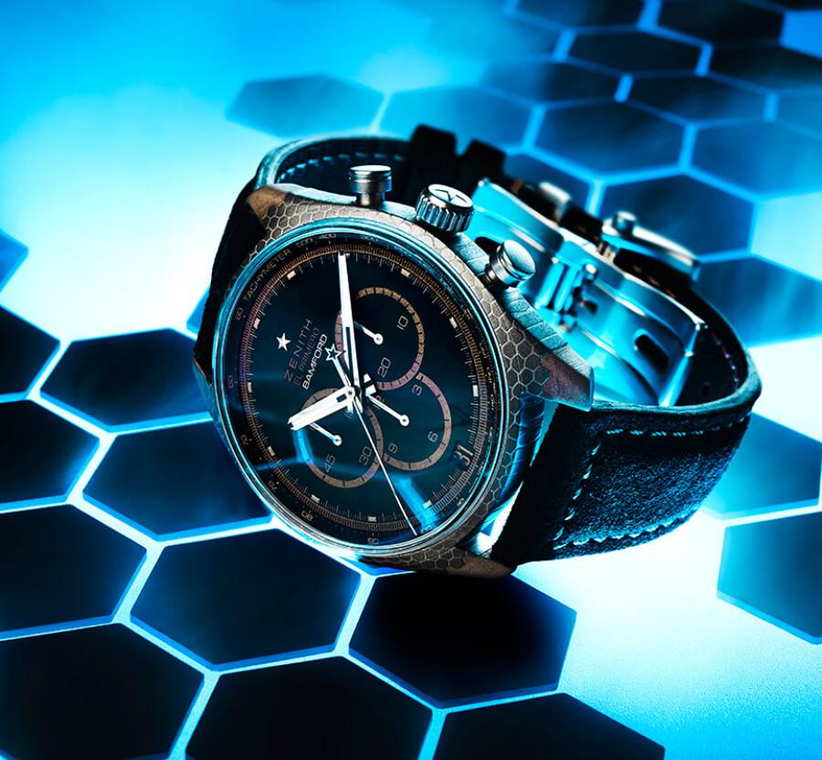 Men Chronograph Swiss Watch