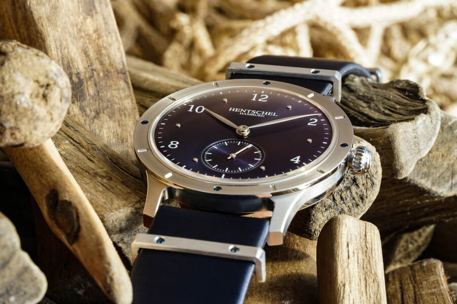 Hentschel H2 Atlantis Platinum Watch