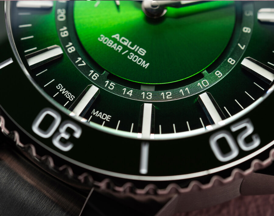Green Dial Dive Watch