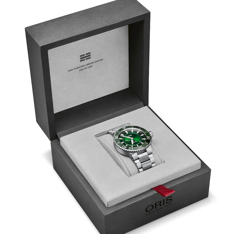 Oris Hangang Limited Edition Full Box For Sale