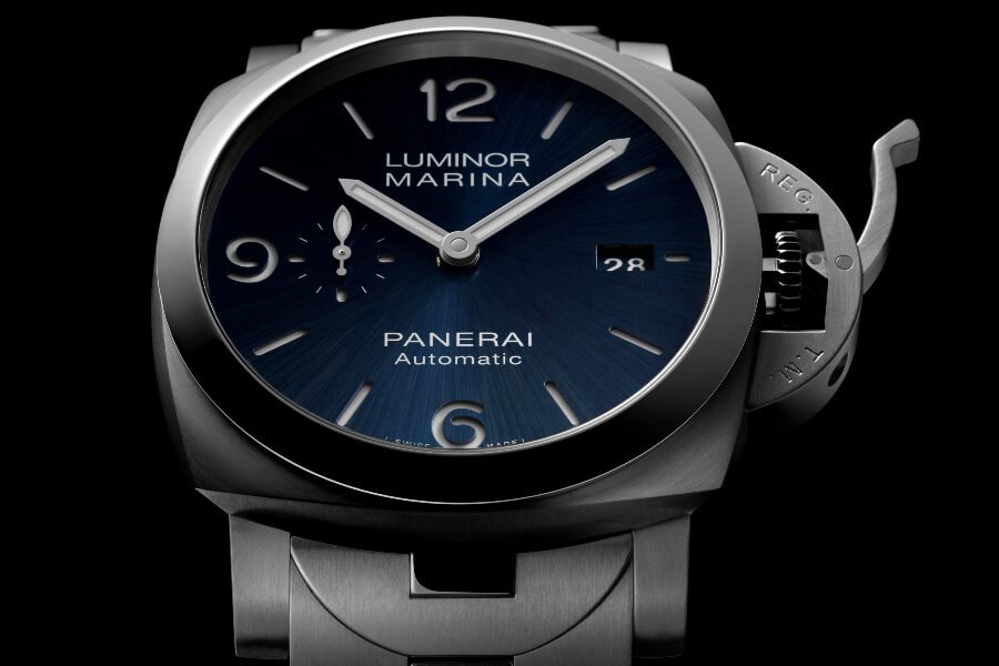 The New Panerai Luminor Marina Specchio Blu – 44 MM PAM01316