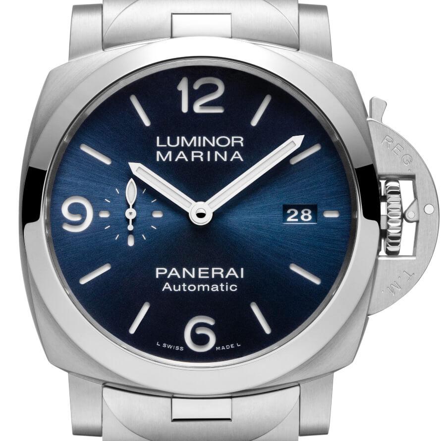 Men Watches Panerai Luminor Marina Specchio Blu – 44 MM PAM01316