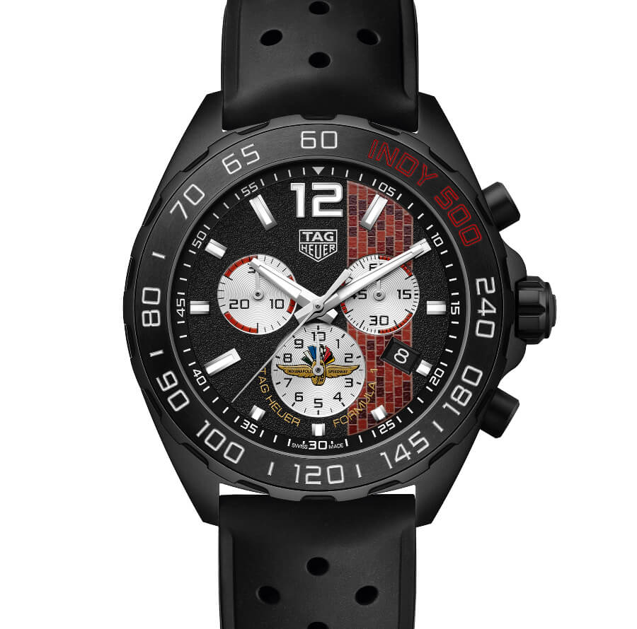 The New TAG Heuer Formula 1 43 mm Indy 500 2020 Special Edition