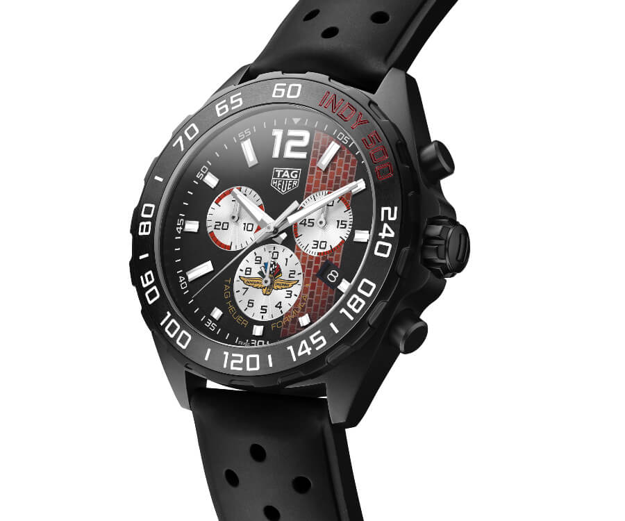 Men Watches TAG Heuer Formula 1 43 mm Indy 500 2020 Special Edition
