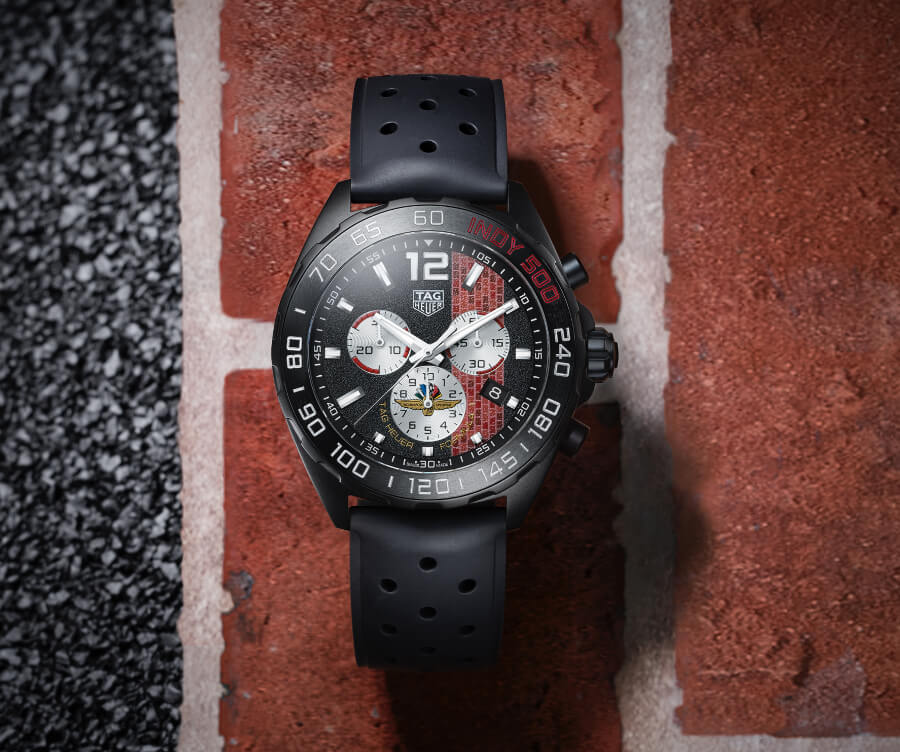 TAG Heuer Formula 1 43 mm Indy 500 2020 Special Edition Watch Review