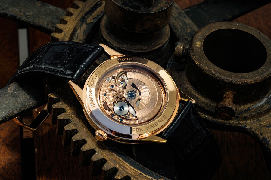 Hentschel H1 Chronometer Automatic In House Movement