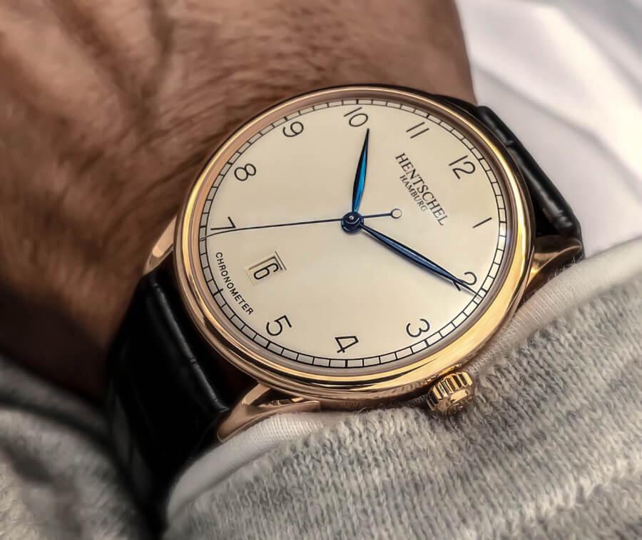 Best German Watch Hentschel H1 Chronometer Automatic