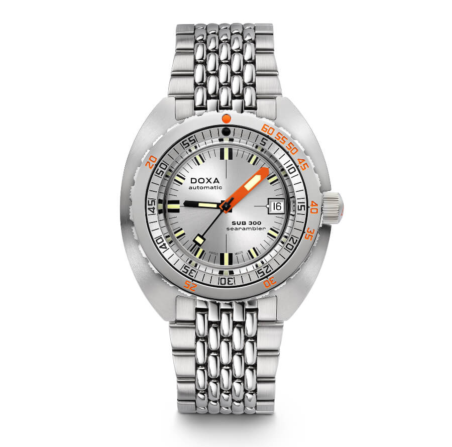 Doxa Stainless Steel SUB 300 COSC Silver
