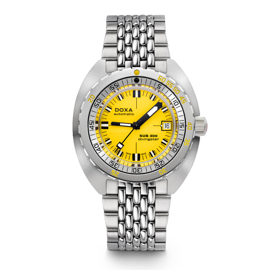The New Doxa Stainless Steel SUB 300 COSC