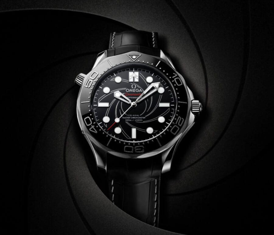 The New Omega Seamaster Diver 300M James Bond Platinum-Gold Numbered Edition