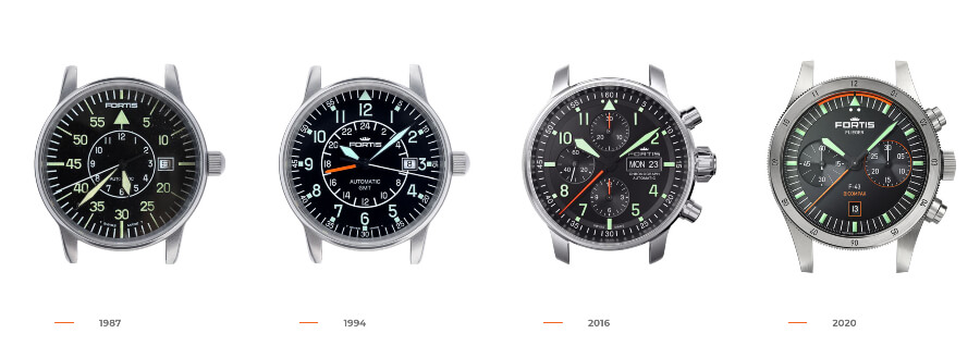 Fortis Flieger Watch Collection