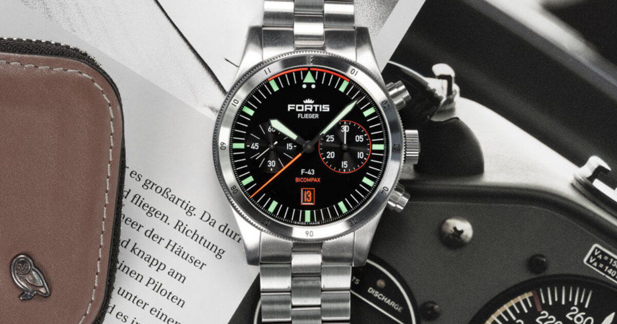 Fortis Flieger F-43 Bicompax (Price, Pictures and Specifications)