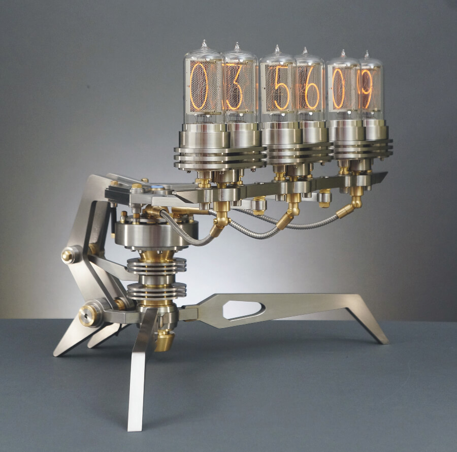 The New Nixie Machine III by Frank Buchwald