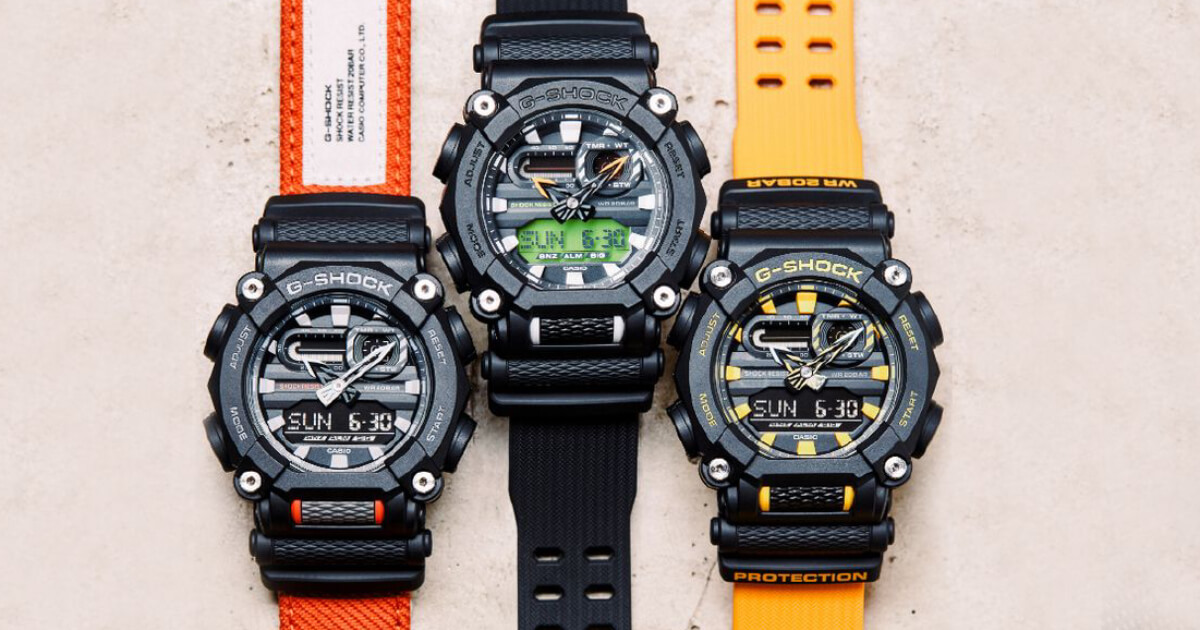 Casio G-Shock Releases Heavy Duty Models Ushering In A New Tough Design (Price, Pictures and Specifications)