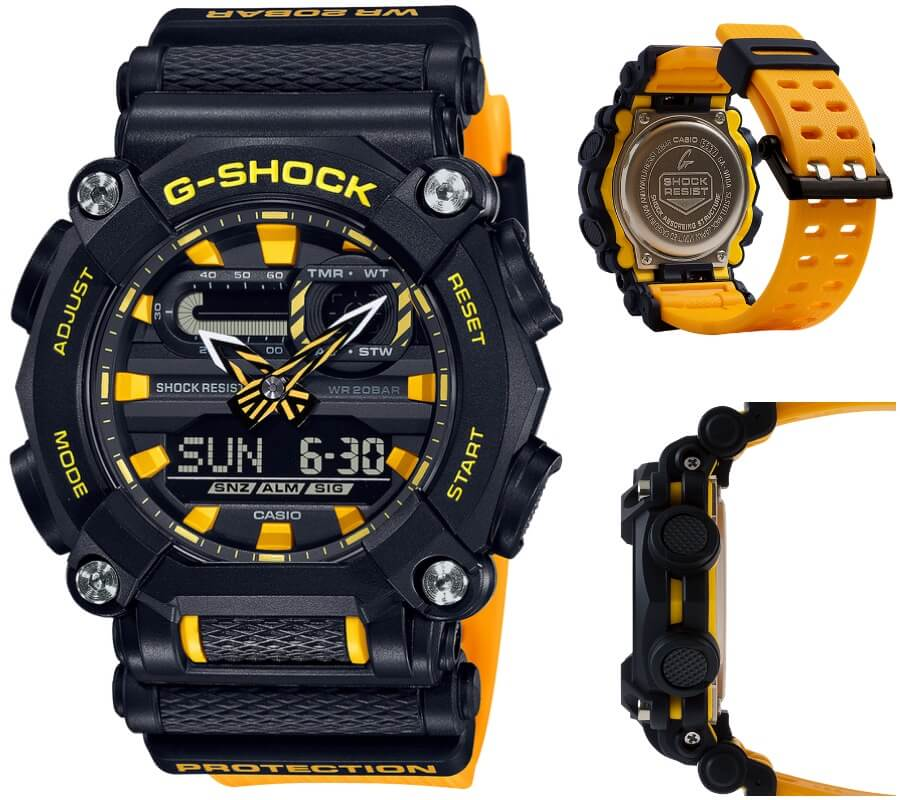 Casio G-Shock GA900A-1A9 Watch Review